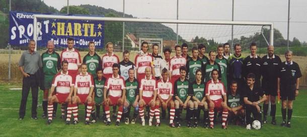 1te Mannschaft der Saison 2002/2003 mit dem SSV Jahn 2000 Regensburg