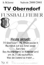 Stadionzeitung Fußballfieber